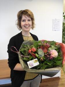 Karin Everts 5 jaar in dienst